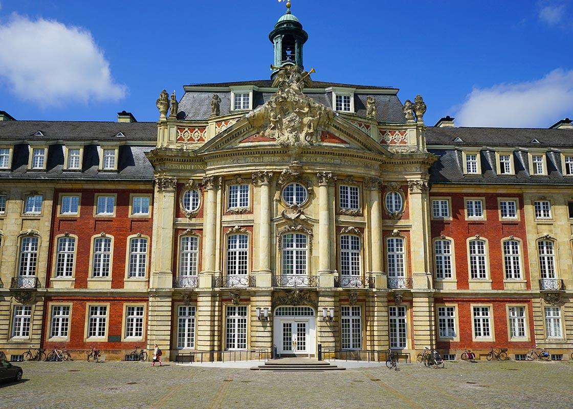 Das Schloss in Münster