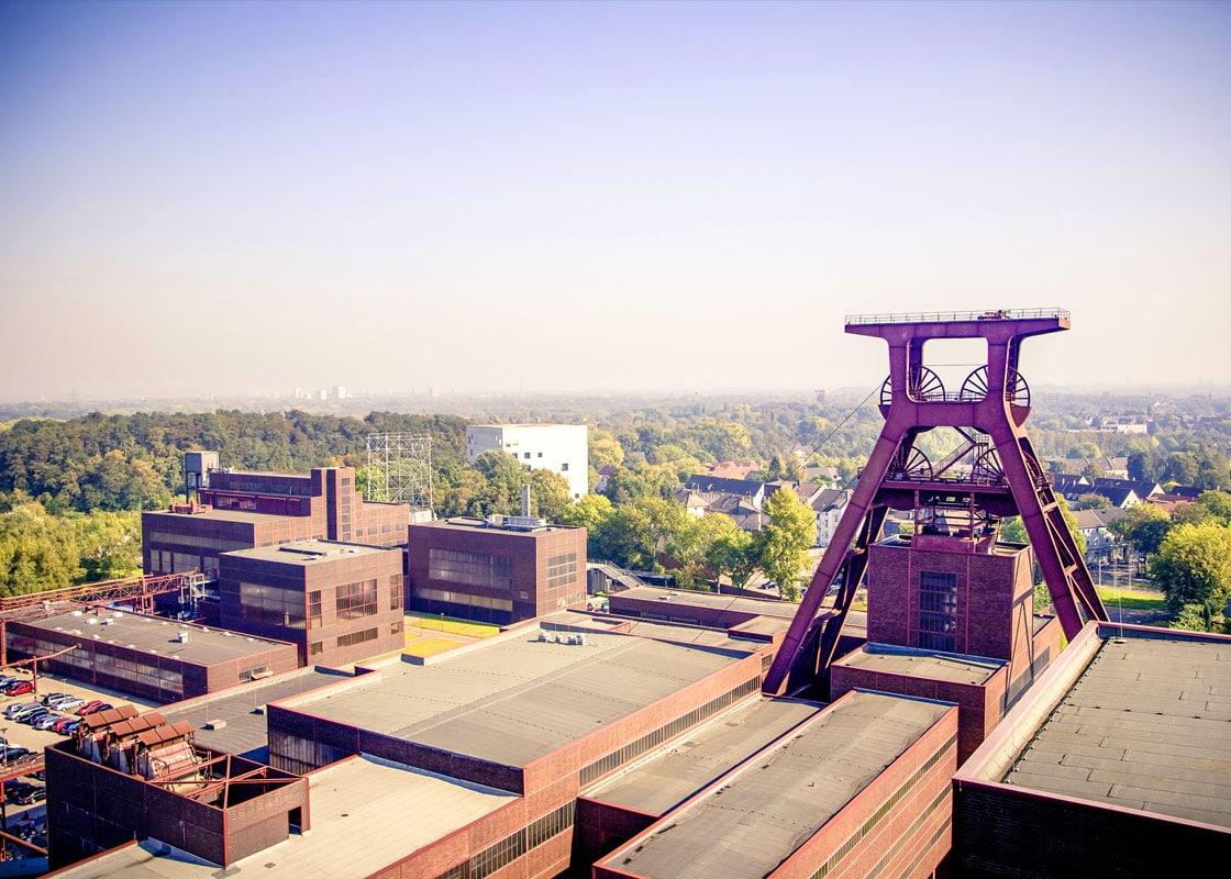 Ansicht der Zeche Zollverein