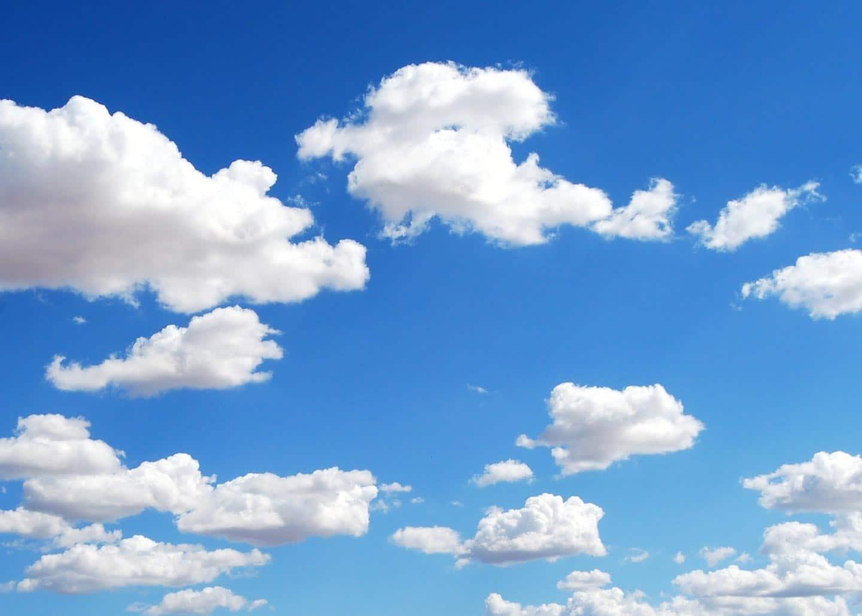 Blauer Himmel - Frische Luft