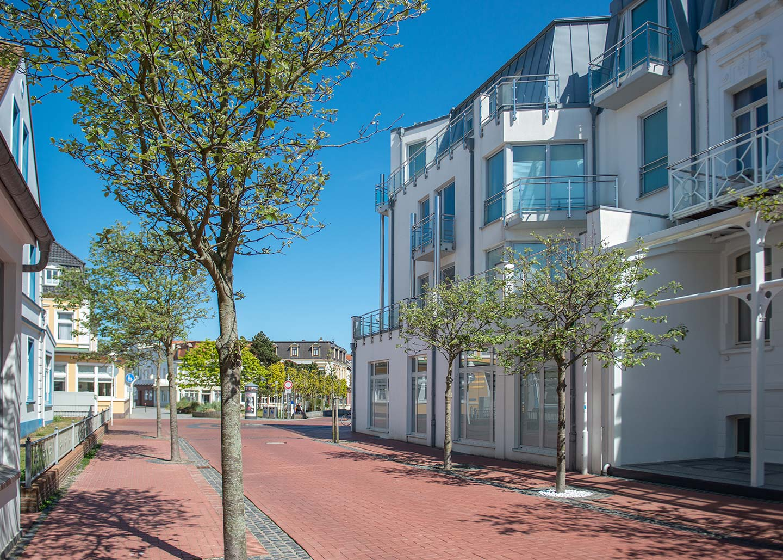 Fußgängerzone Norderney