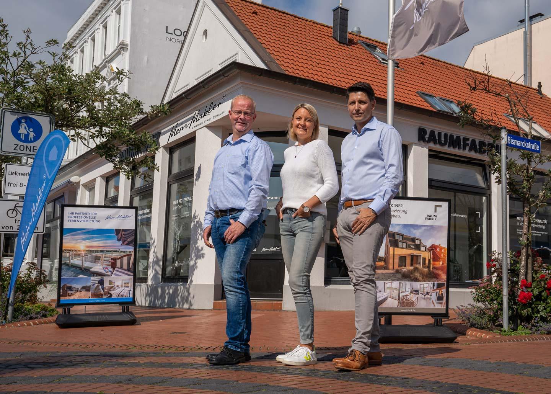 Gruppenbild Mein Makler Norderney