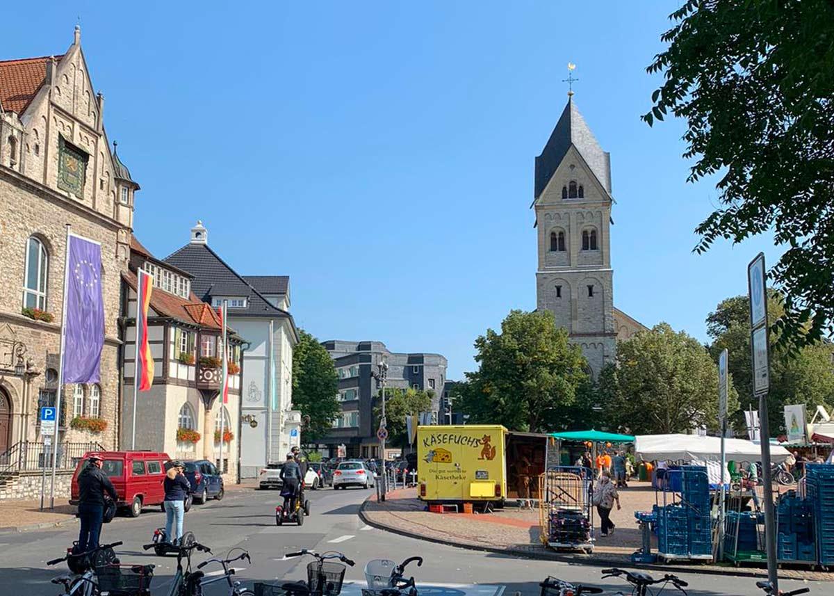 Bergisch Gladbach Marktplatz
