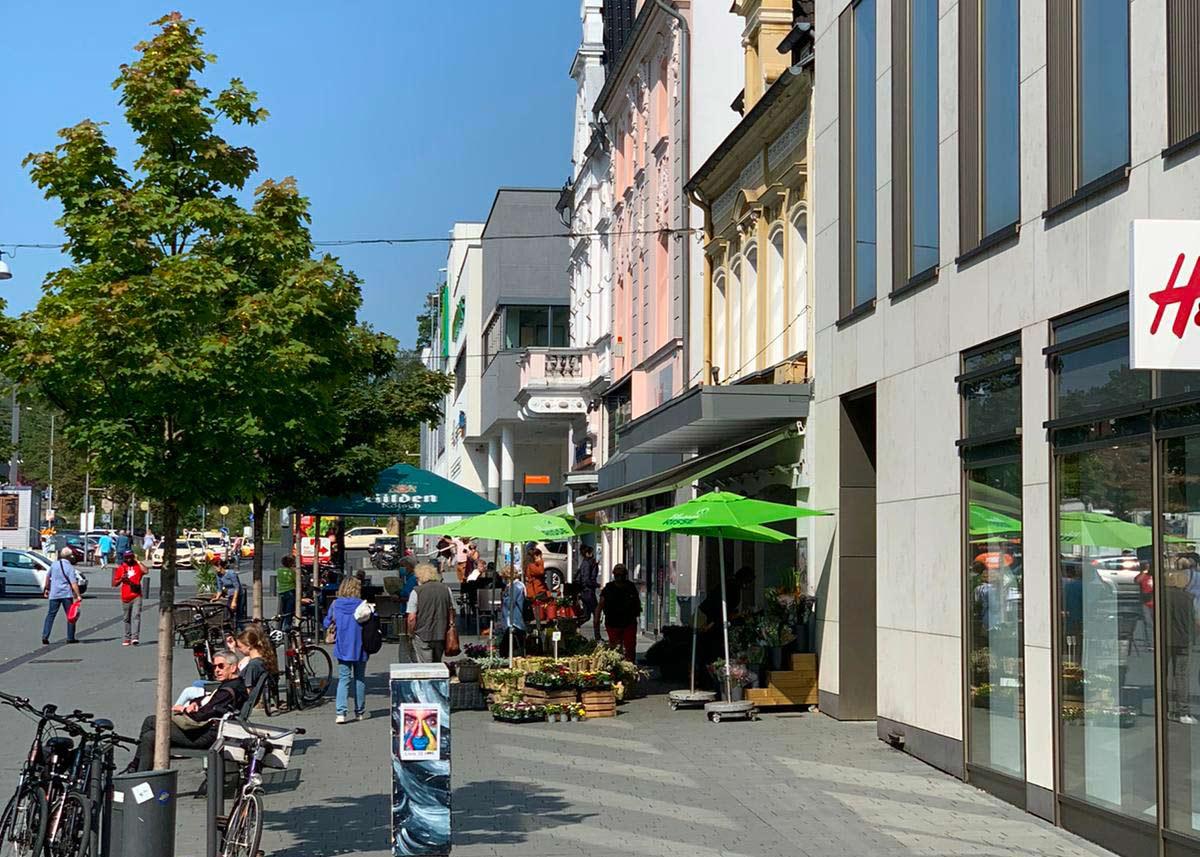 Bergisch Gladbach Einkaufsstraße