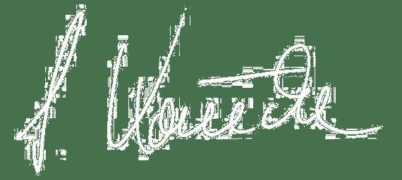 Unterschrift Sabrine Könecke
