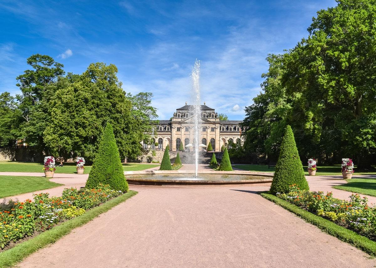 Fulda Schlossgarten mit Orangerie