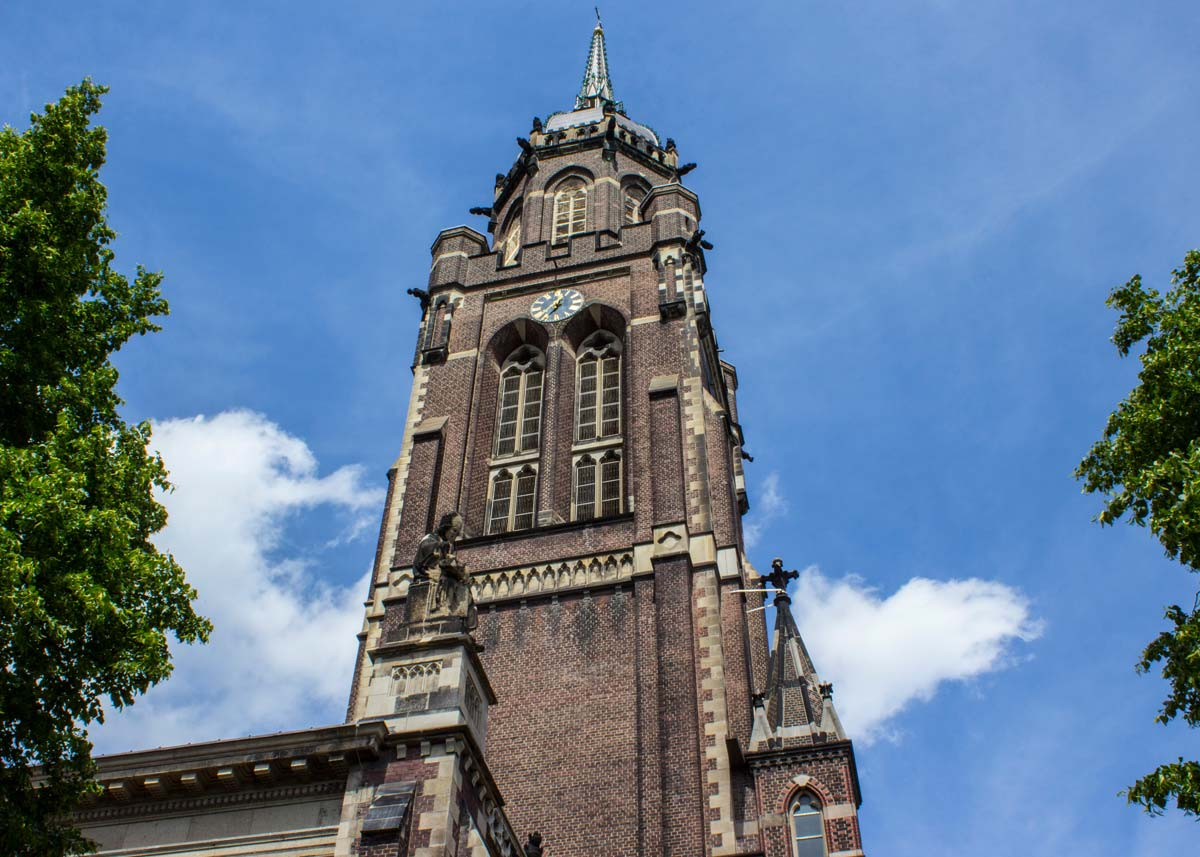 Krefeld - Stadtkirche St. Dionysius