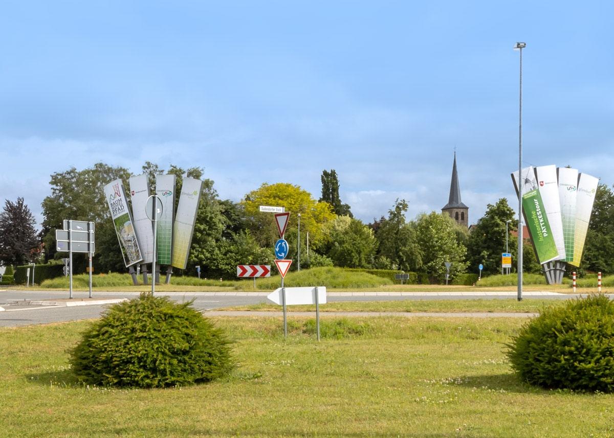Glandorf Kreisverkehr